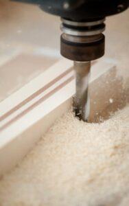 cnc furniture drill, bit, wood